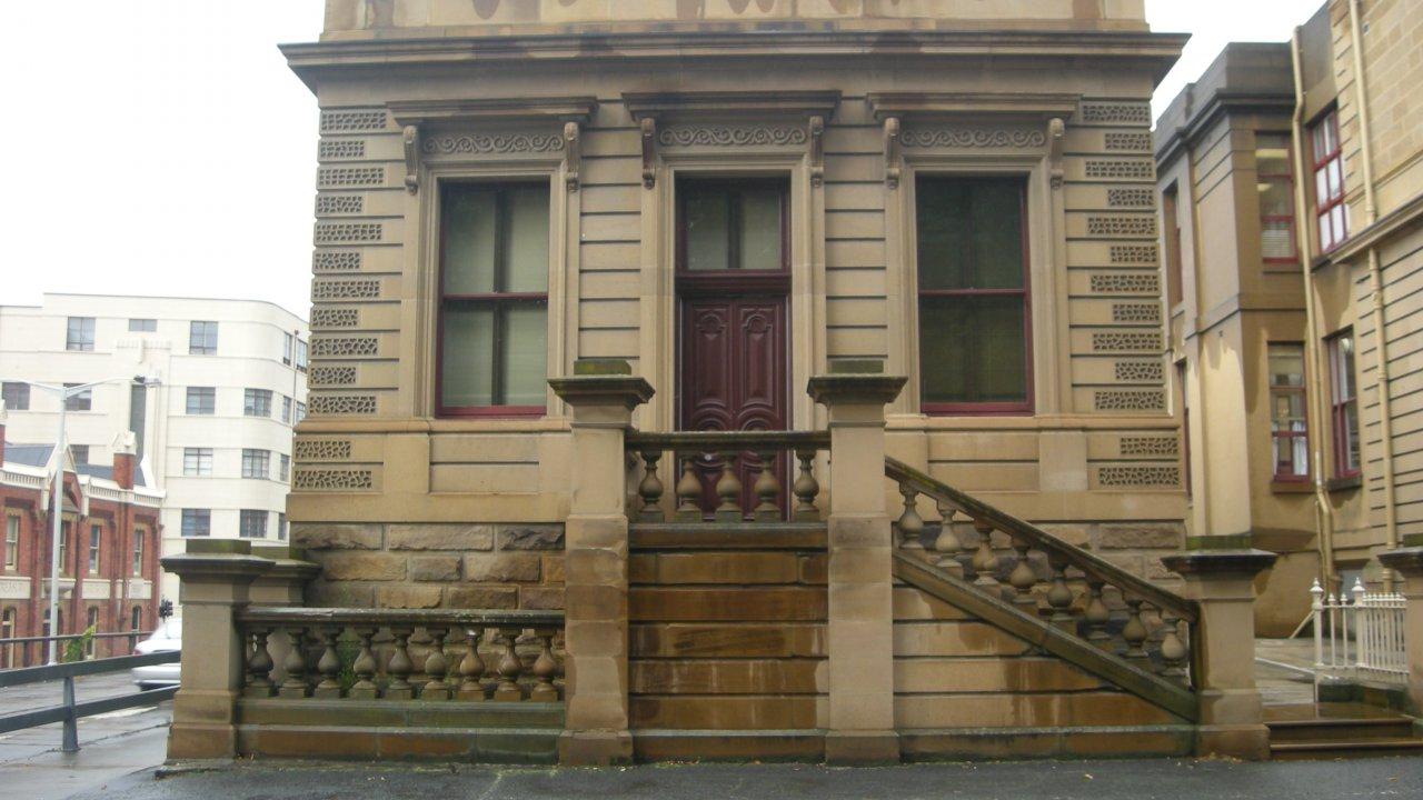Heritage listed Hobart.