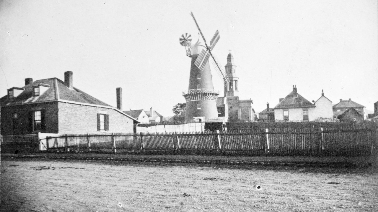 Once a place of windmills and churches