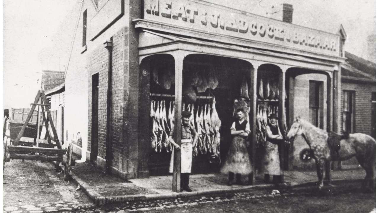 The best meat in town in 1890.