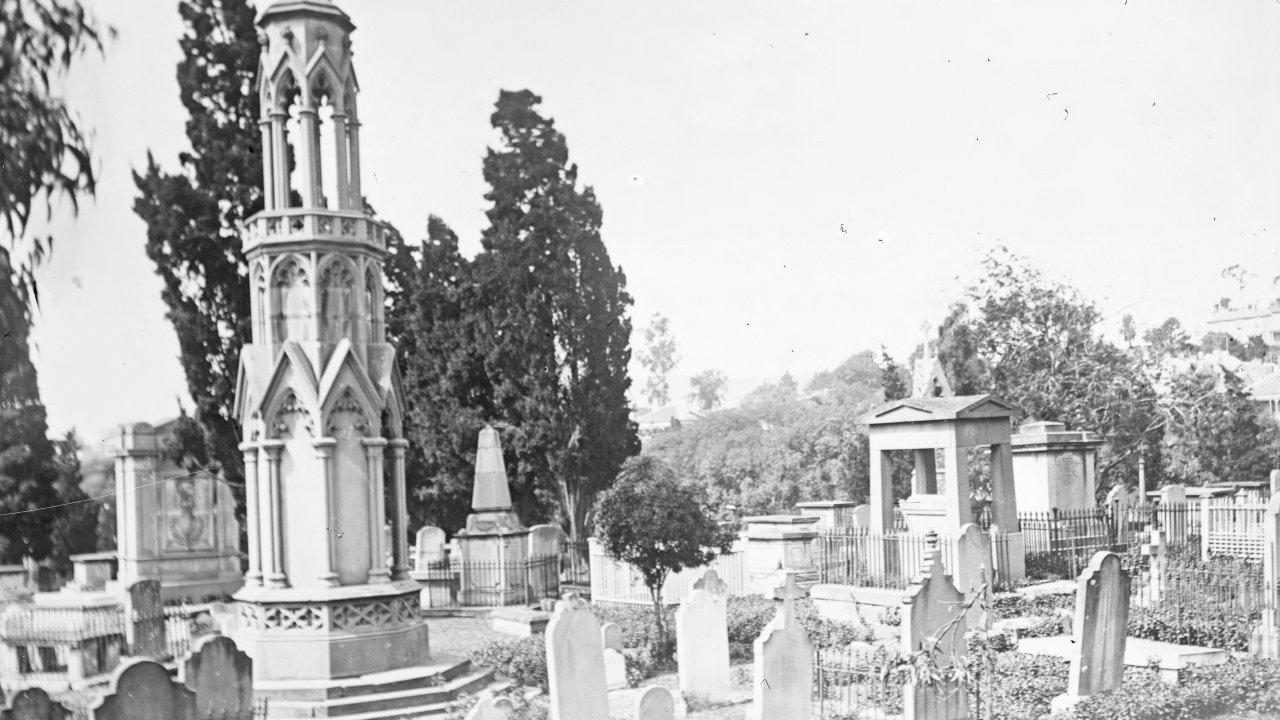 Cemetery secrets