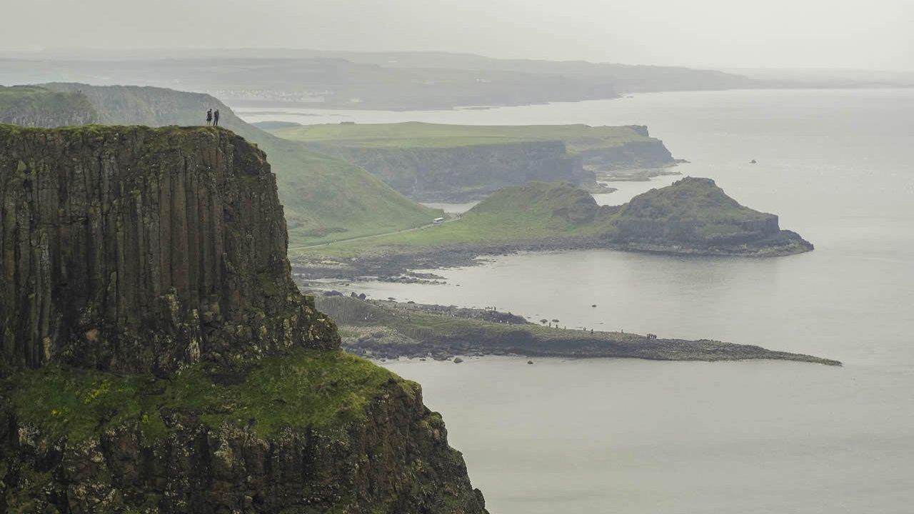Antrim Coast Cliff Path Walk