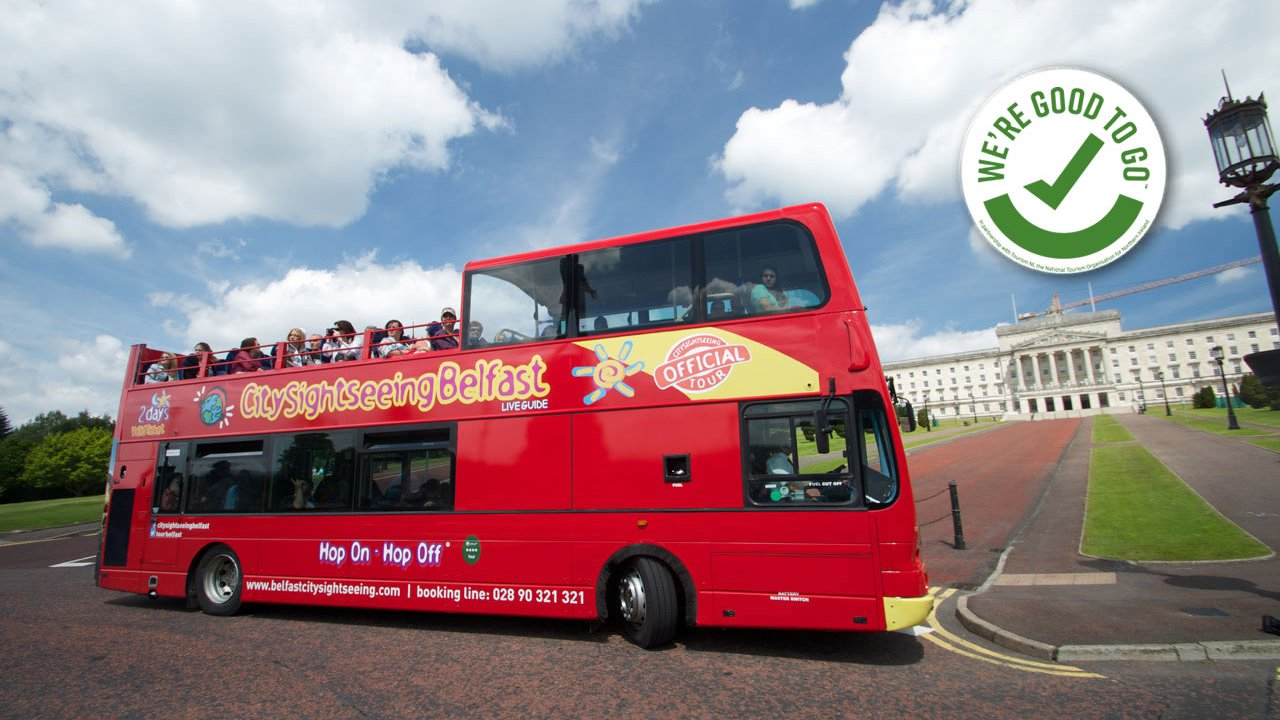 Belfast City Sightseeing - Parliament Buildings