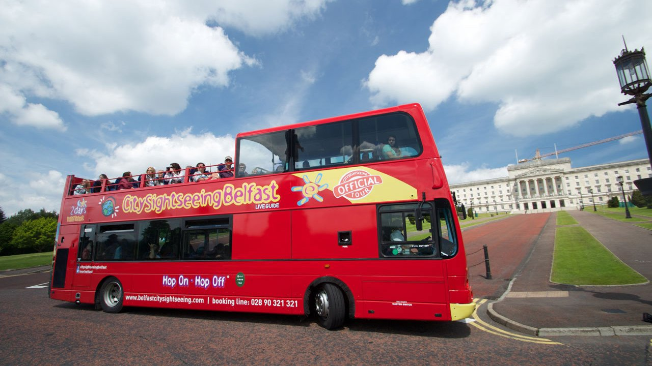 Belfast City Sightseeing Hop on Hop off Bus Tour