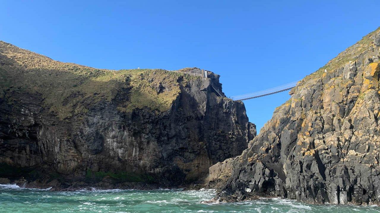 Land and Sea Tour Rope Bridge