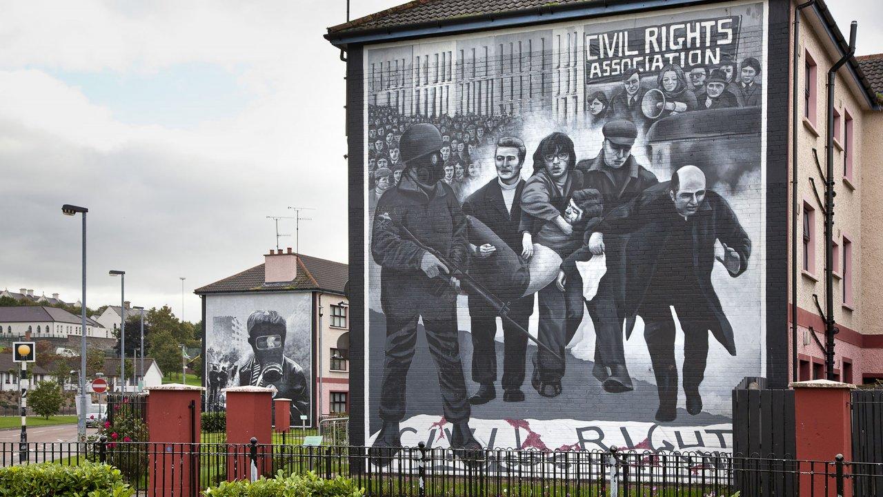 Derry Wall Murals