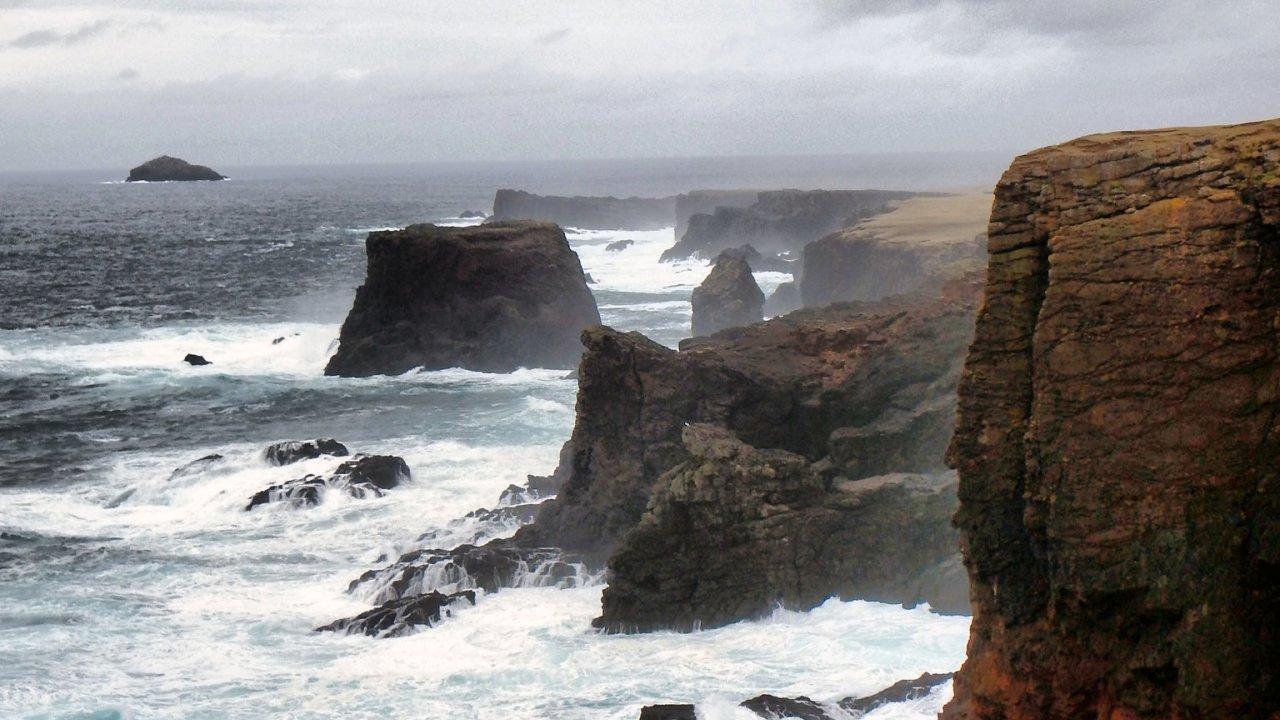 Cliffs at Eshaness