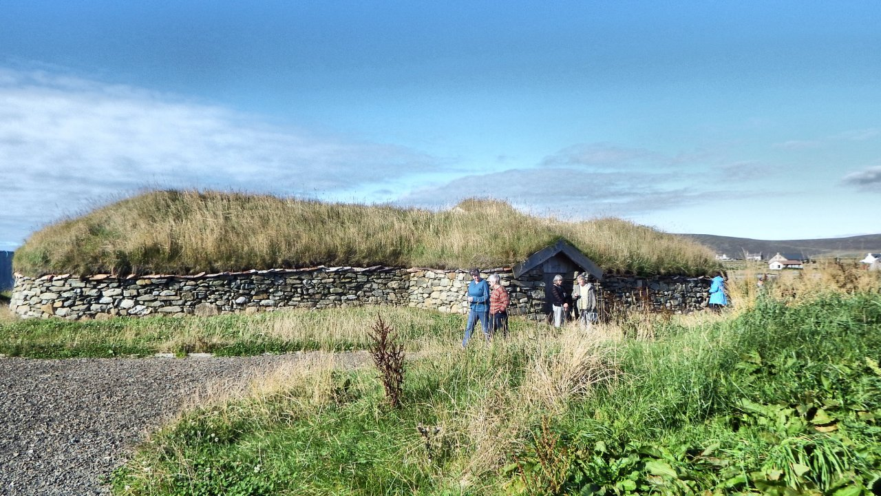 Viking Longhouse, Haroldswick