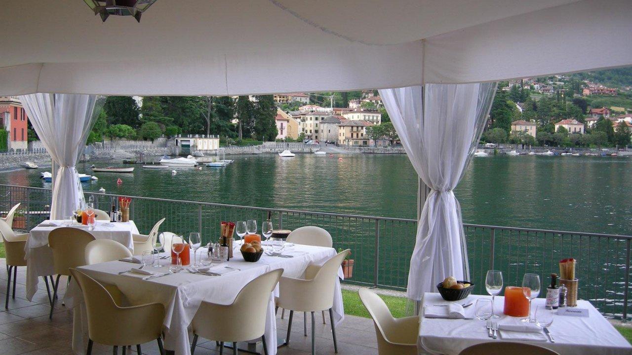 Restaurant in Lake Como