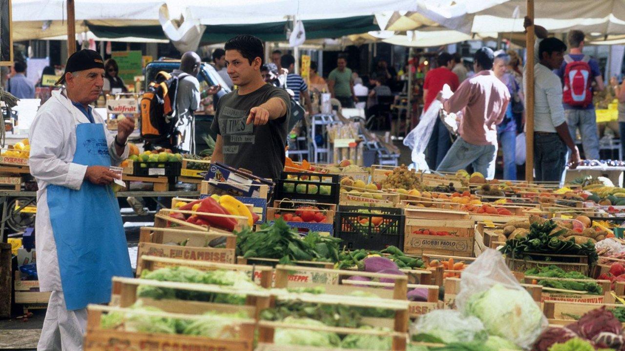 Food Market, Rome