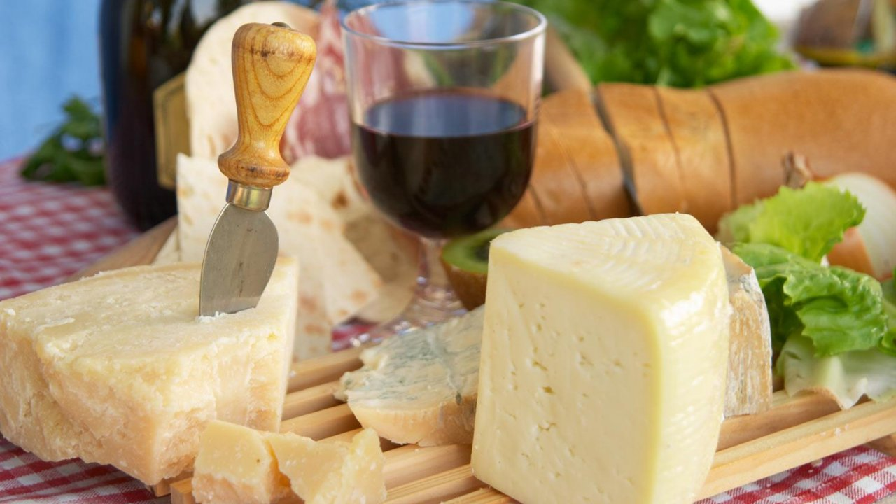 Cheese and Vinegar Tasting