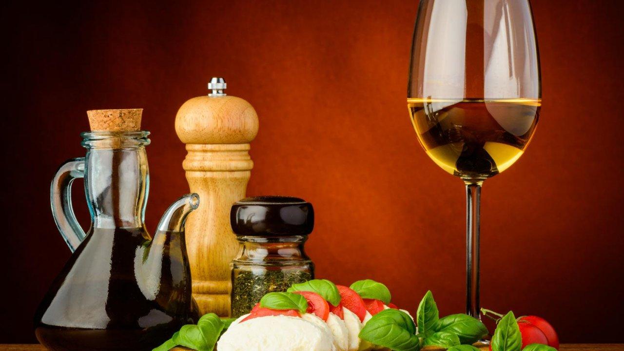 Mozzarella and Wine Tasting