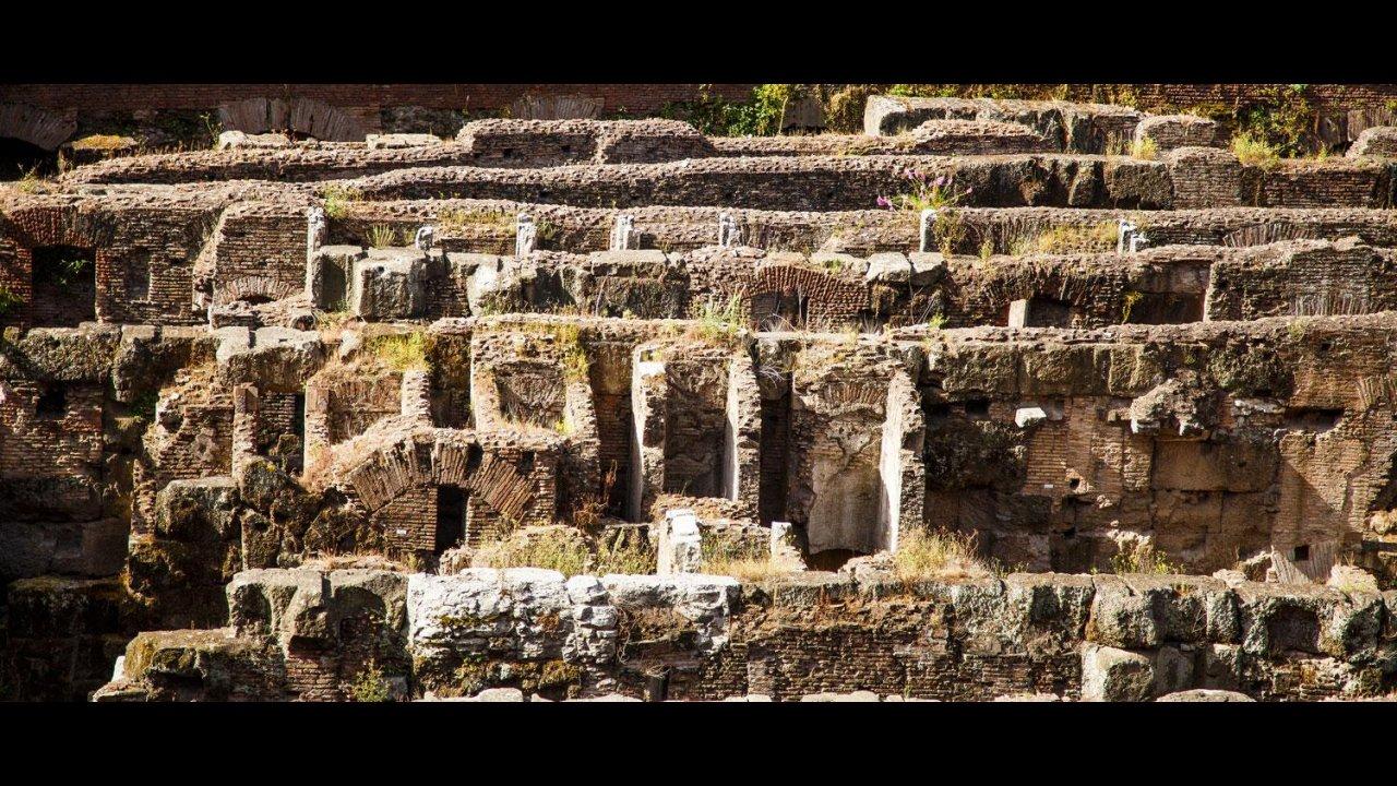 Catacombs under the Roman Forum