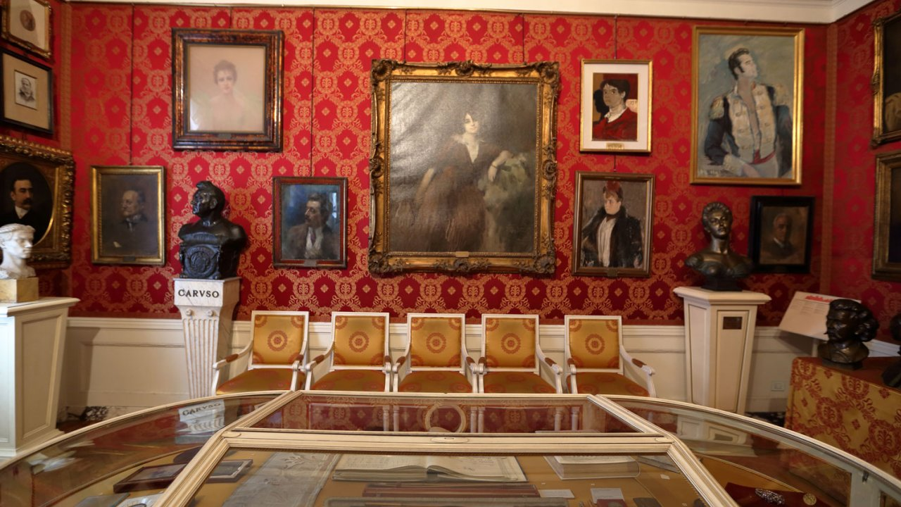 Interior of La Scala Musuem