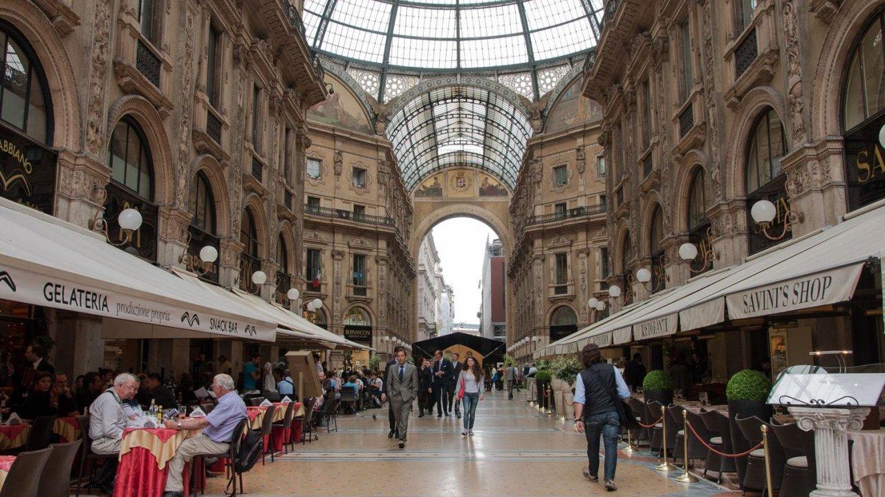 Galleria Vittorio Emanuele II restaurant