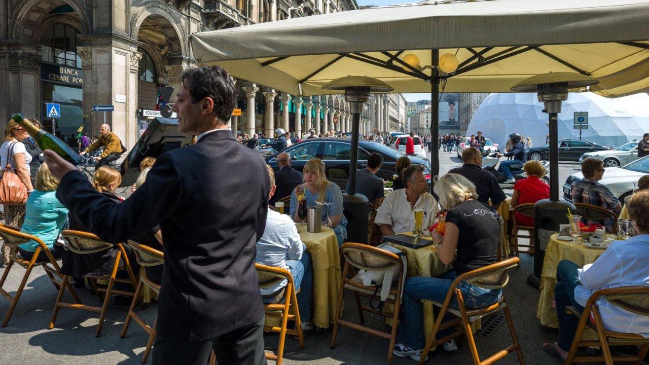 Restaurant in Piazza del Duomo