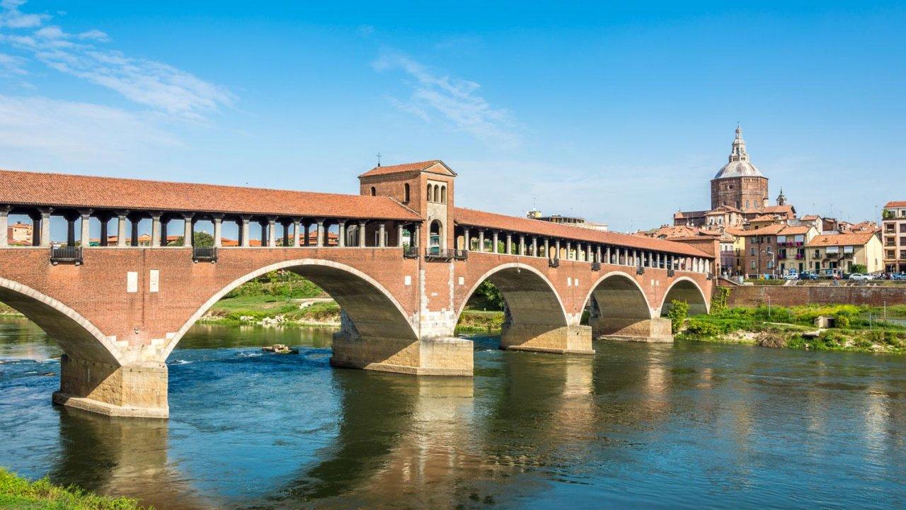Bridge over Ticino River