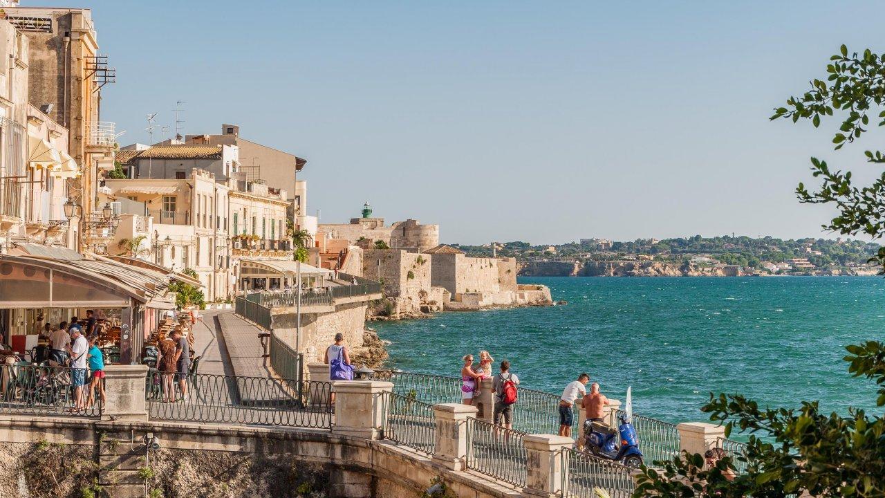 Ortigia coastline